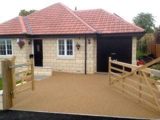 Bristol bungalow with new resin driveway