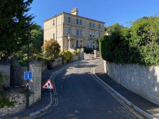 Driveway on Hill Bath
